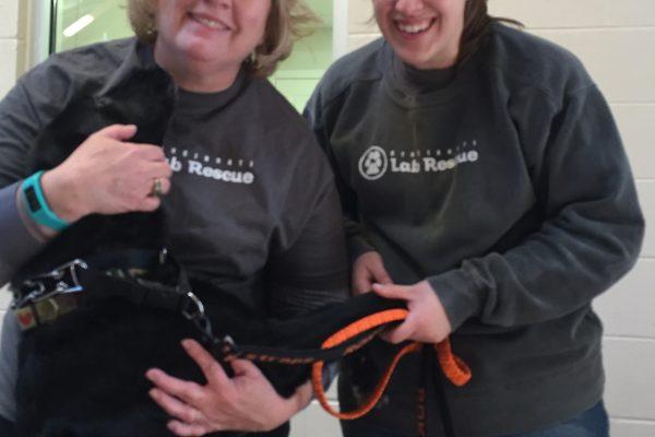 volunteers Beth & Kelsey 2-13-16